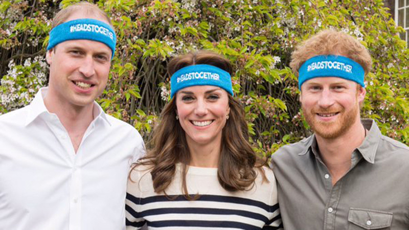 170424 Prince William Kate Middleton Prince Harry Charity