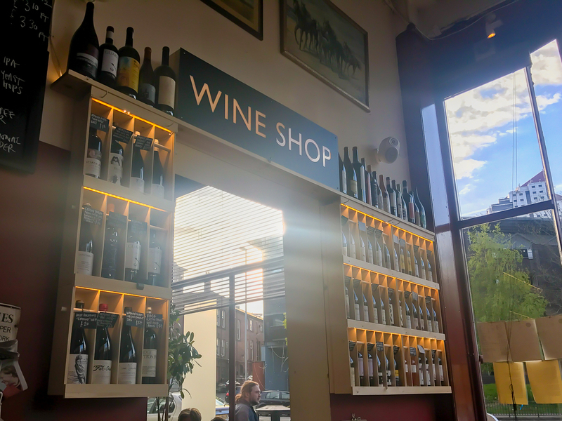 170430 The Reliance Bar Review Wine Shop
