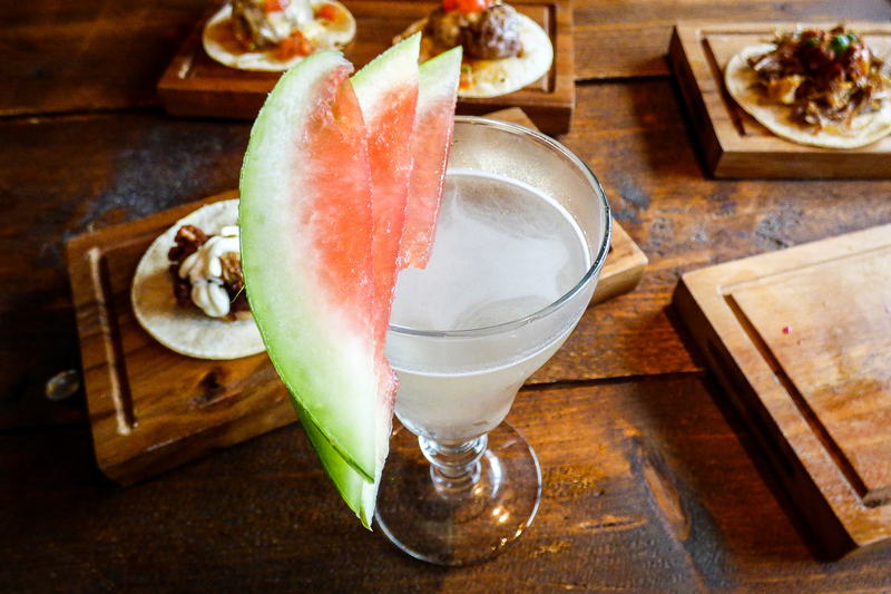 170706 Chida Cantina Review Watermelon Gimlet