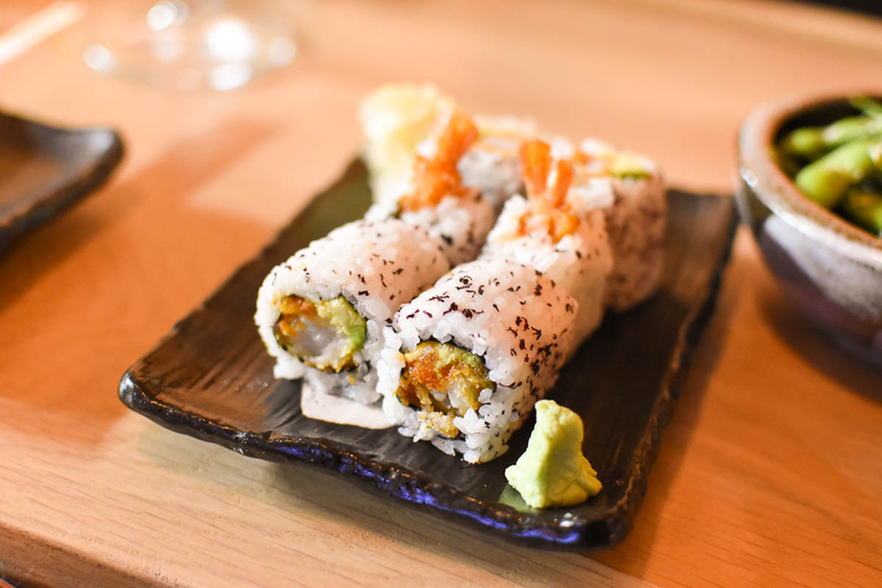 170929 Edo Sushi Review Spicy Tuna Roll
