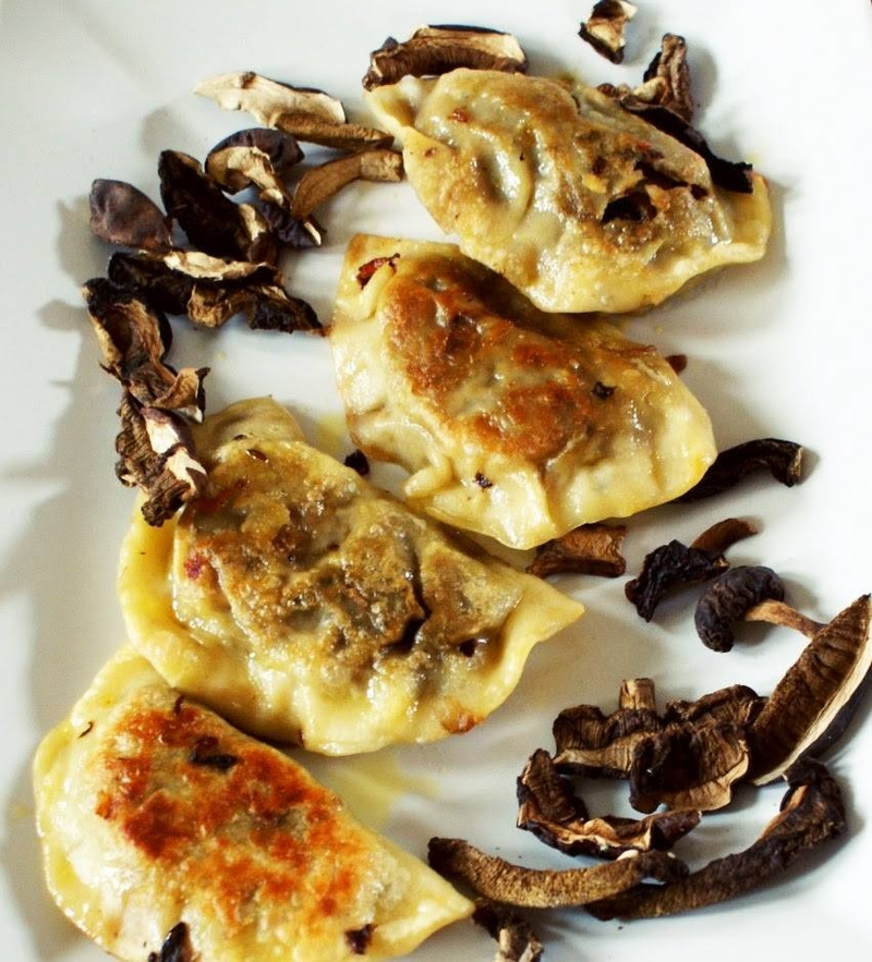 180227 Smak Polish Food Pierogi With Mushrooms