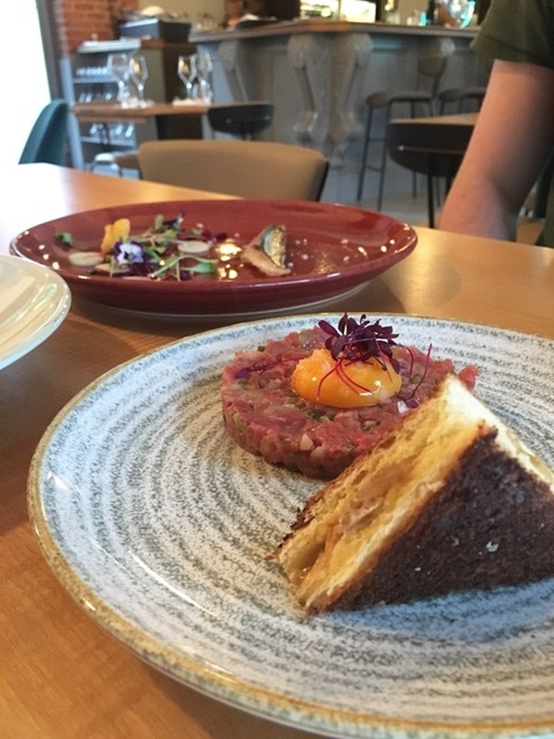 20180531 The Foundry Steak Tartare
