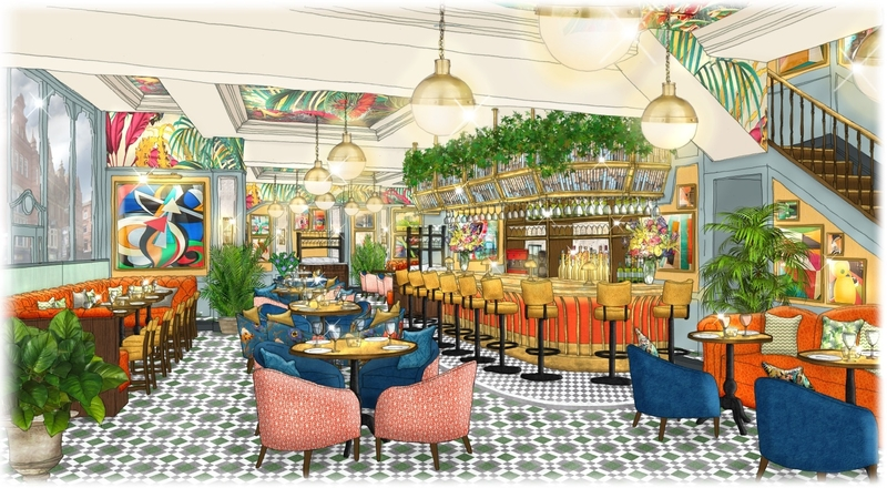 In Bloom The Ivy Victoria Quarter Is Set To Open Its Doors In Leeds This Autumn 1