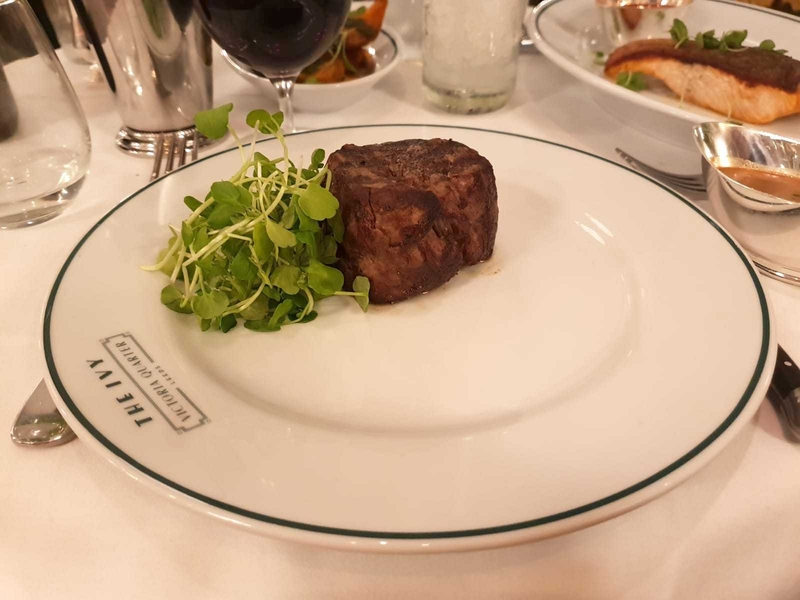 2018 10 29 Ivy Leeds Review 181018 Ivy Fillet Steak