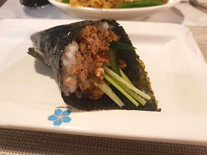 2019 Blue Sakura Tuna Hand Roll