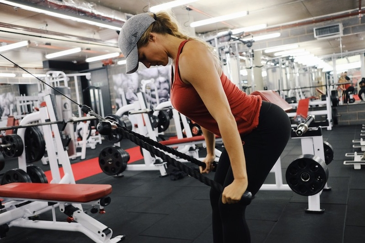 Gemma Atkinson Ultimate Performance Triceps