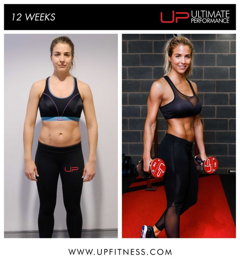 Up Gemma Atkinson 12Wk Transformation 1