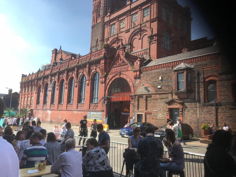 180509 Cains Brewery Cains Brewery Baltic Market Outdoor Area