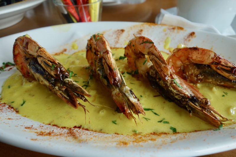 180622 Cargo Review Tiger Garlic Prawns