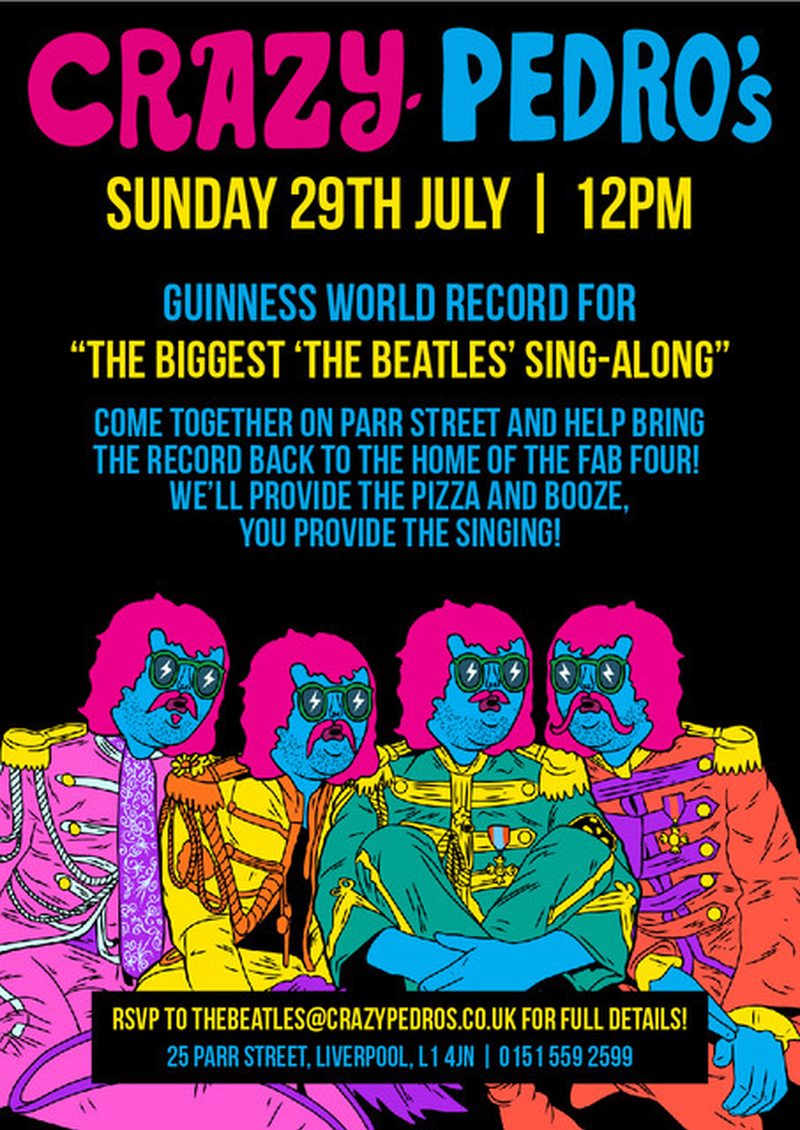 Cp Beatles Posters E Mail Invite