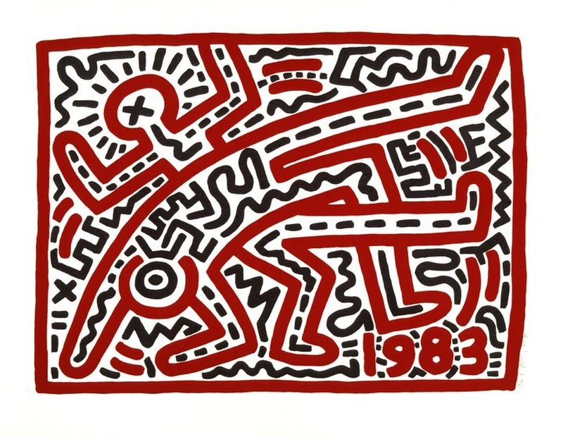 2018 11 12 Keith Haring Untitled Copyright Expired