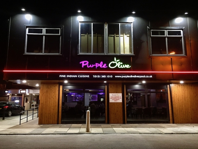 'Take the 'award-winning' claims with a pinch of saffron' - Purple Olive Lounge, Speke Road, reviewed
