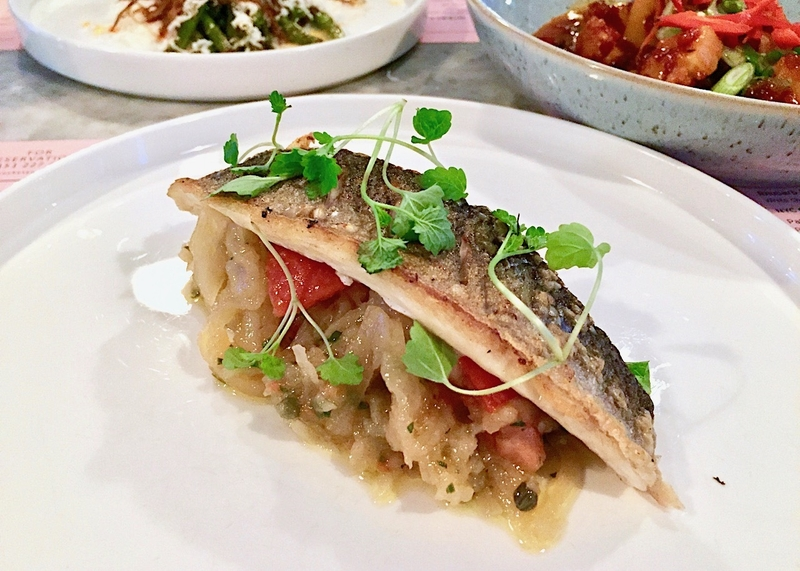 2019 05 14 Rocket Ruby Grilled Sea Bass