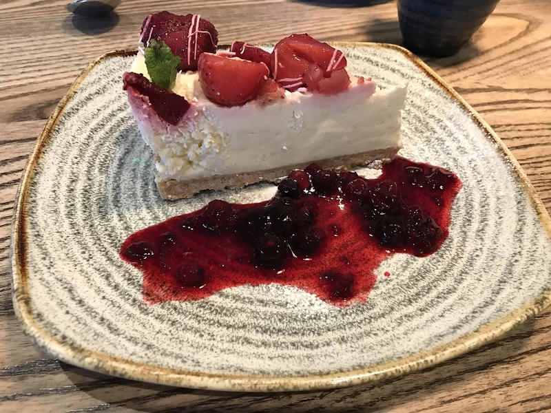 2019 05 21 Silk Road Strawberry Cheesecake