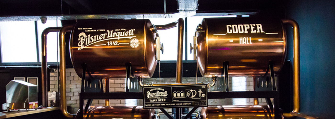 The tanks are here: fresh Pilsner Urquell at Cooper Hall | Confidentials