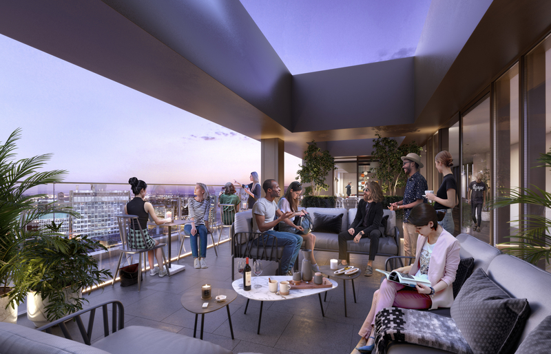 19 Vita Living 78 15Th Floor Roof Terrace People