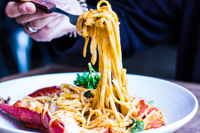 Crust Lobster Linguini
