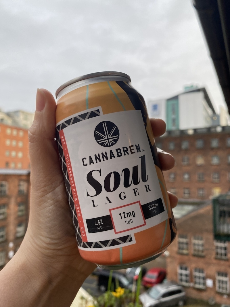 2021 02 05 Cannabrew Can In Hand