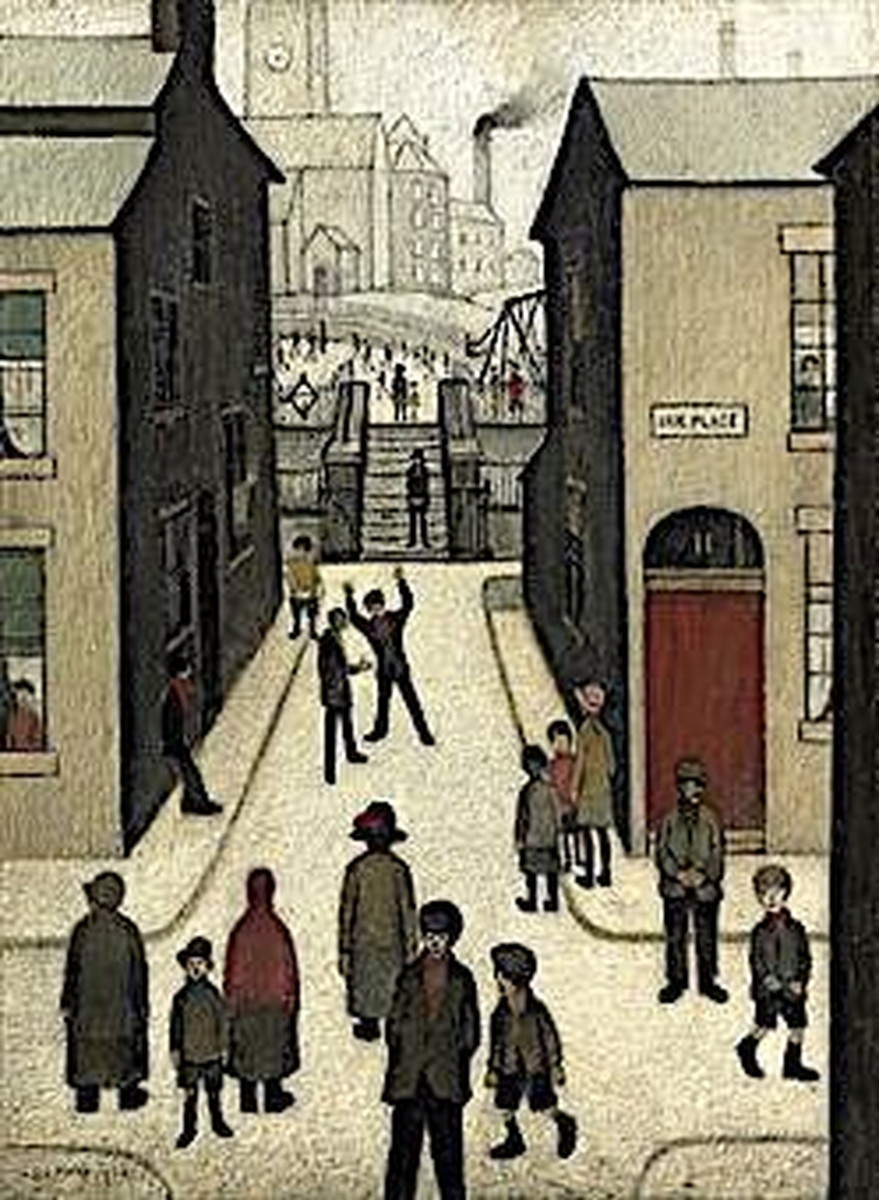 2019 08 07 Ls Lowry The Steps At Irk Place
