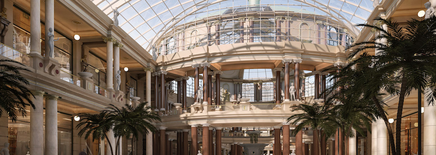 2017 08 29 Trafford Centre Barton Square Courtyard View Opt01 110817 Approved For Release