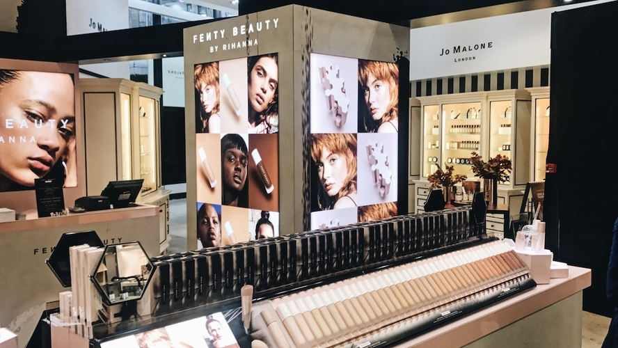 See Rihanna Look Like Royalty In A Sheer Dress At Her UK Fenty Beauty  Launch | Style | BET |
