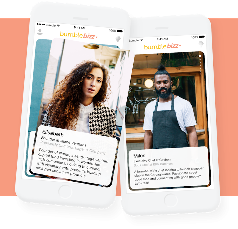 LinkedIn meets Tinder: Bumble launches women-first