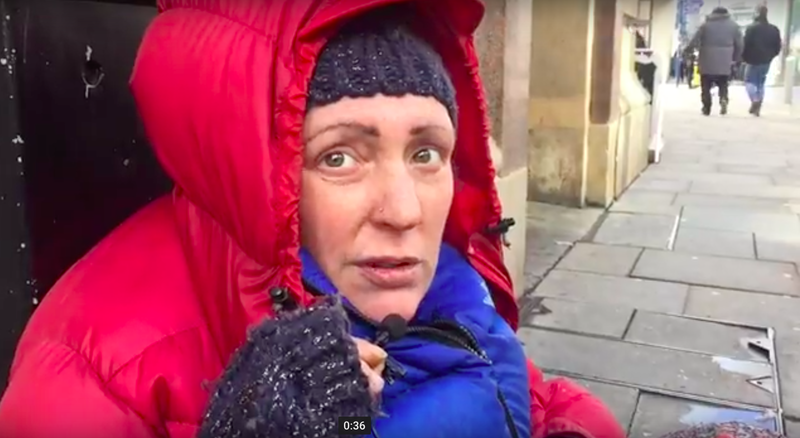 18 03 13 Manchester Homeless Women