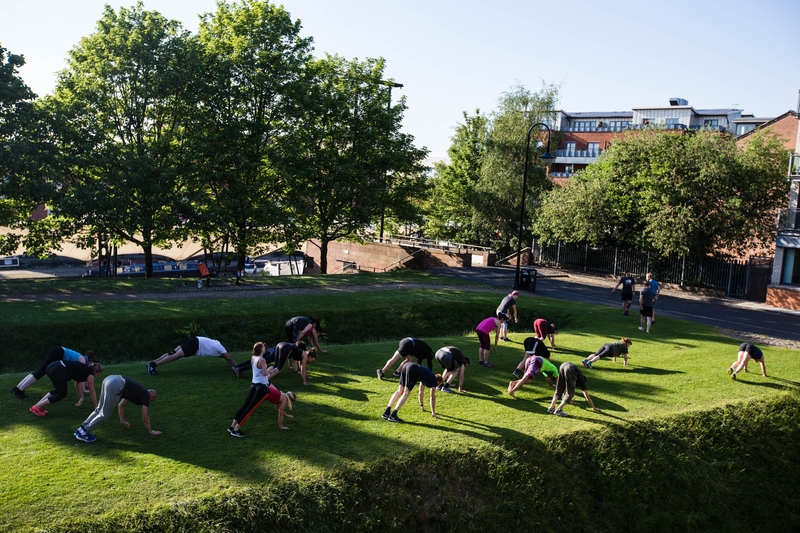 2018 6 28 The North Face Free Outdoor Training Sessions 2