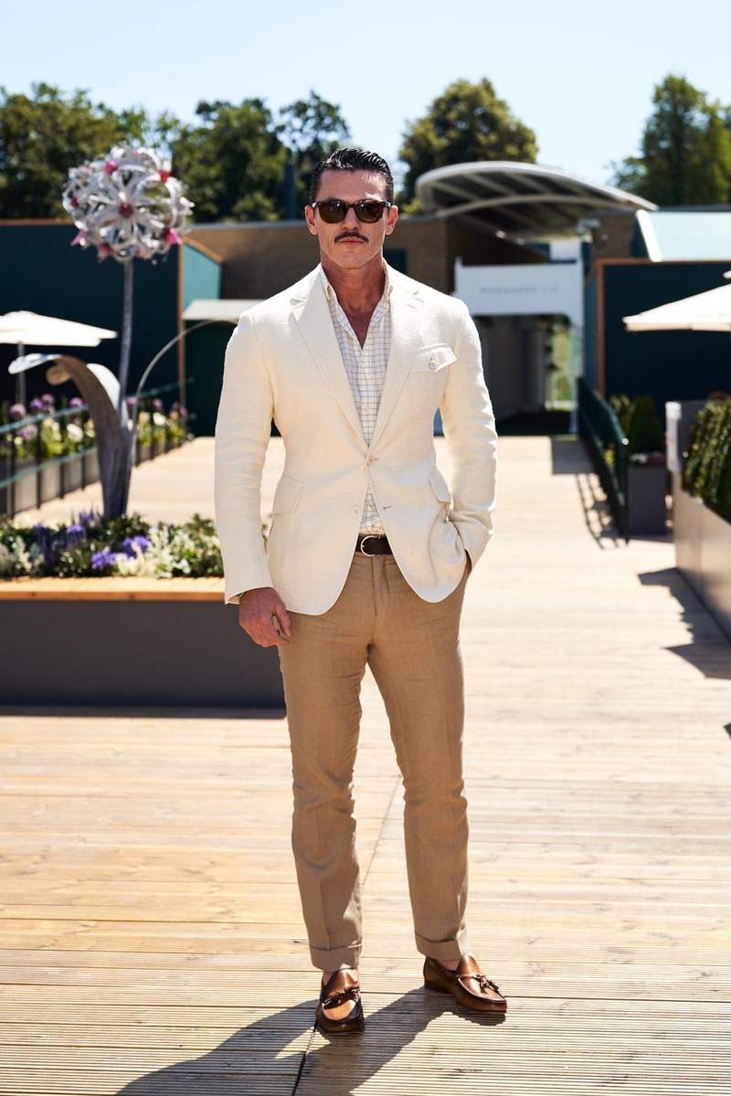 2018 7 26 Luke Evans In Ralph Lauren