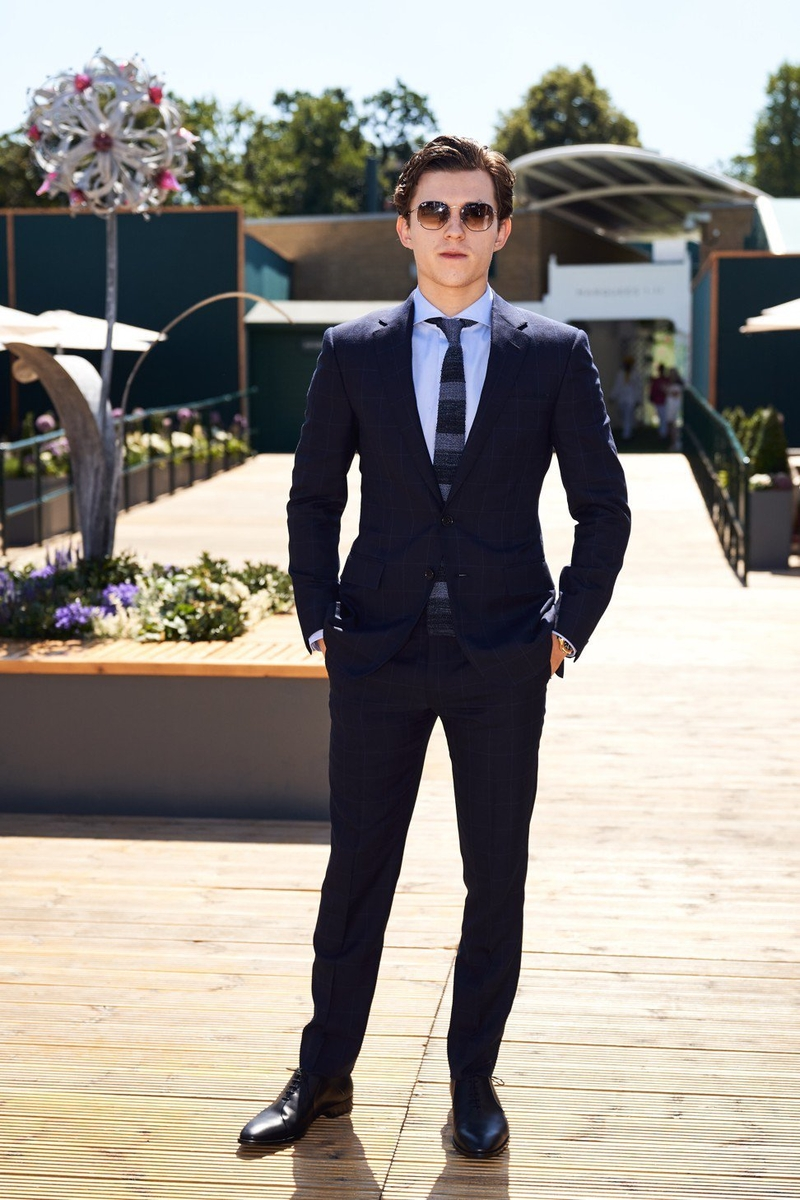 2018 7 26 Tom Holland In Ralph Lauren