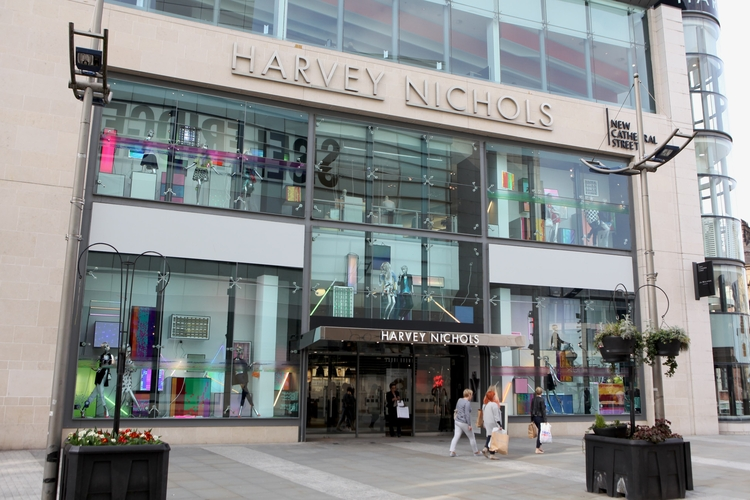 2018 09 04 Harvey Nichols At Exchange Square Manchester