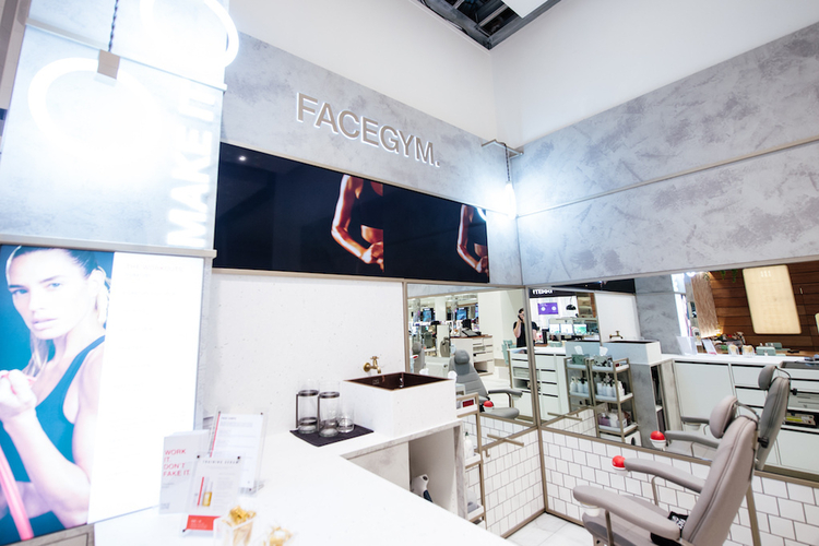 18 10 05 Selfridges Beauty Face Gym 18 09 28 Beauty Hall Opening 270918 Mancphoto040