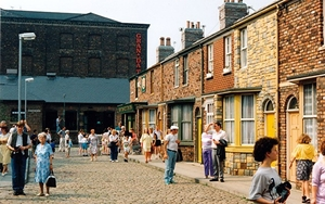 180404 90S Nineties Coronation Street In Granada Studios 1990 By Graham Hogg For Sj8397 Taken 1990 08 15