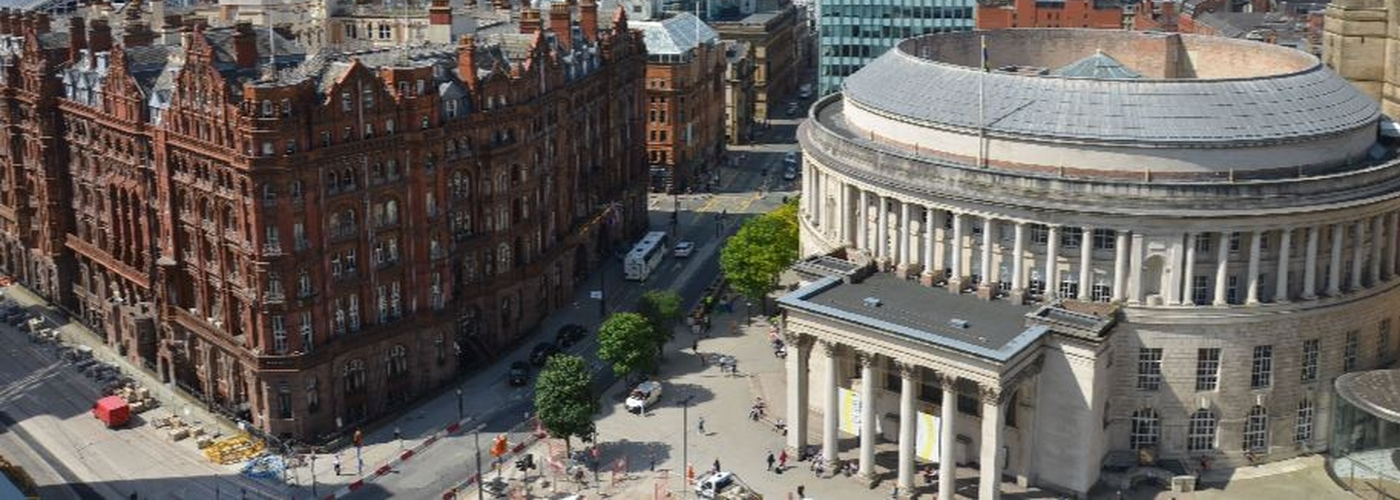 Manchester Skysline Beetham Central Library Midland Hotel Peter Street 456