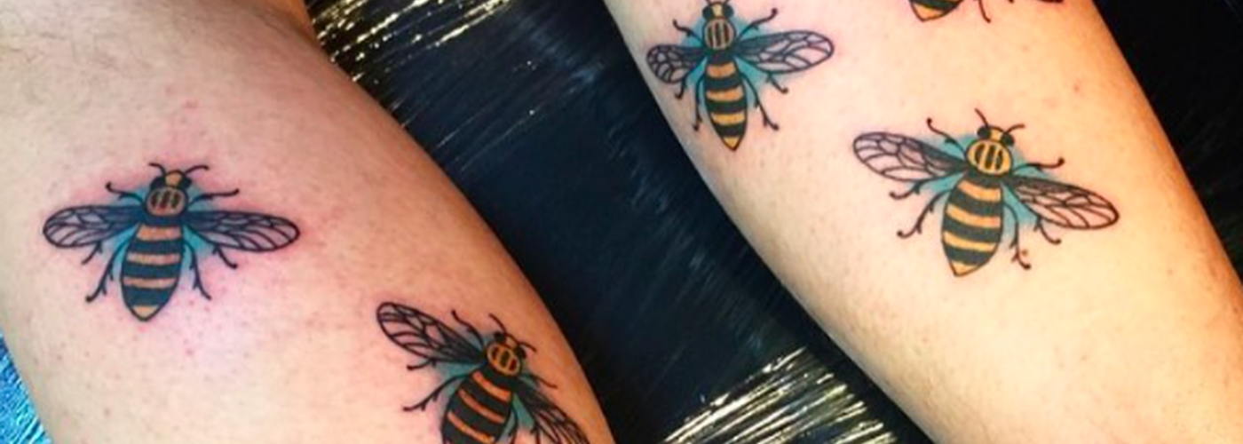 170525 Manchester Bee Tattoos Terror Attack Arena