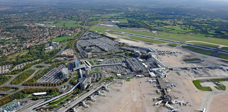 Manchester Airport Aerial