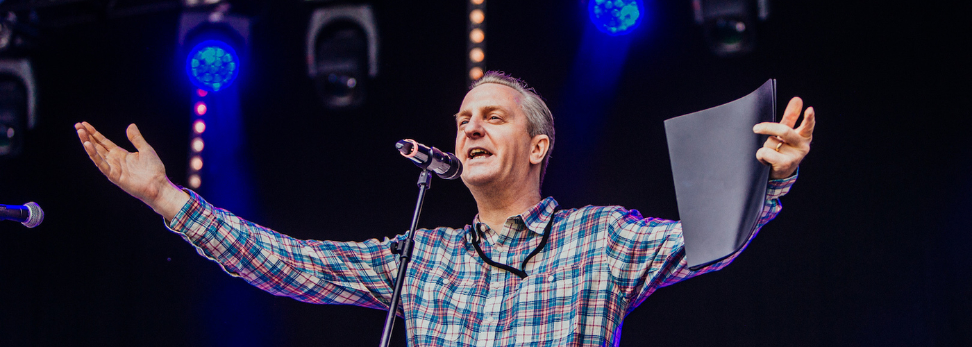 Bluedot 2017 Friday Tony Walsh Lovell Stage