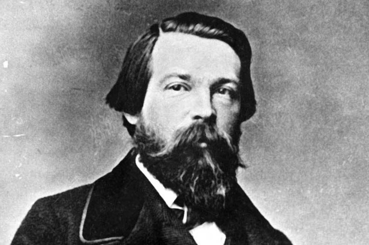 Friedrich Engels 1860 Copy