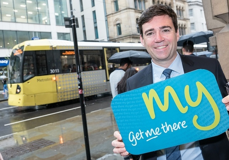 Andy Burnham Get Me There