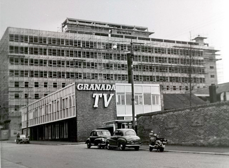 Construction Of Granada Tv 1960