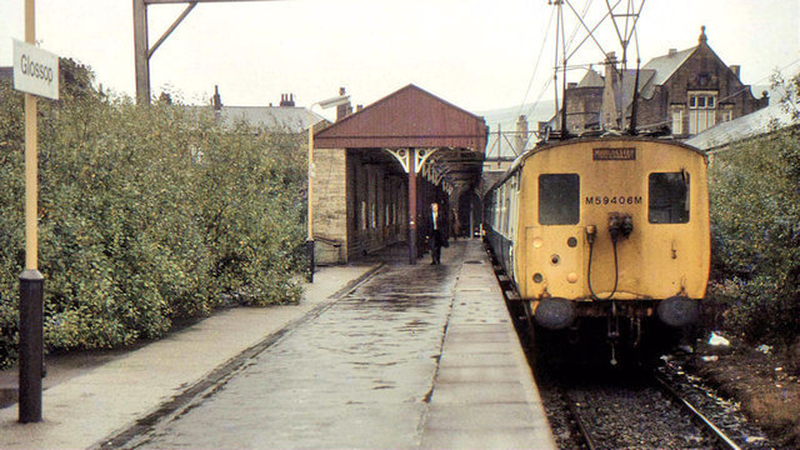 Manchester 1980S Glossop Station 1983