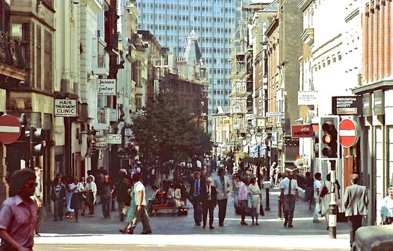 Manchester 1980S King Street 1983