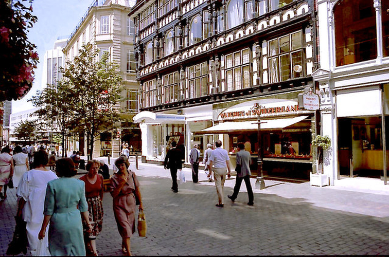 Manchester 1980S King Street 1985