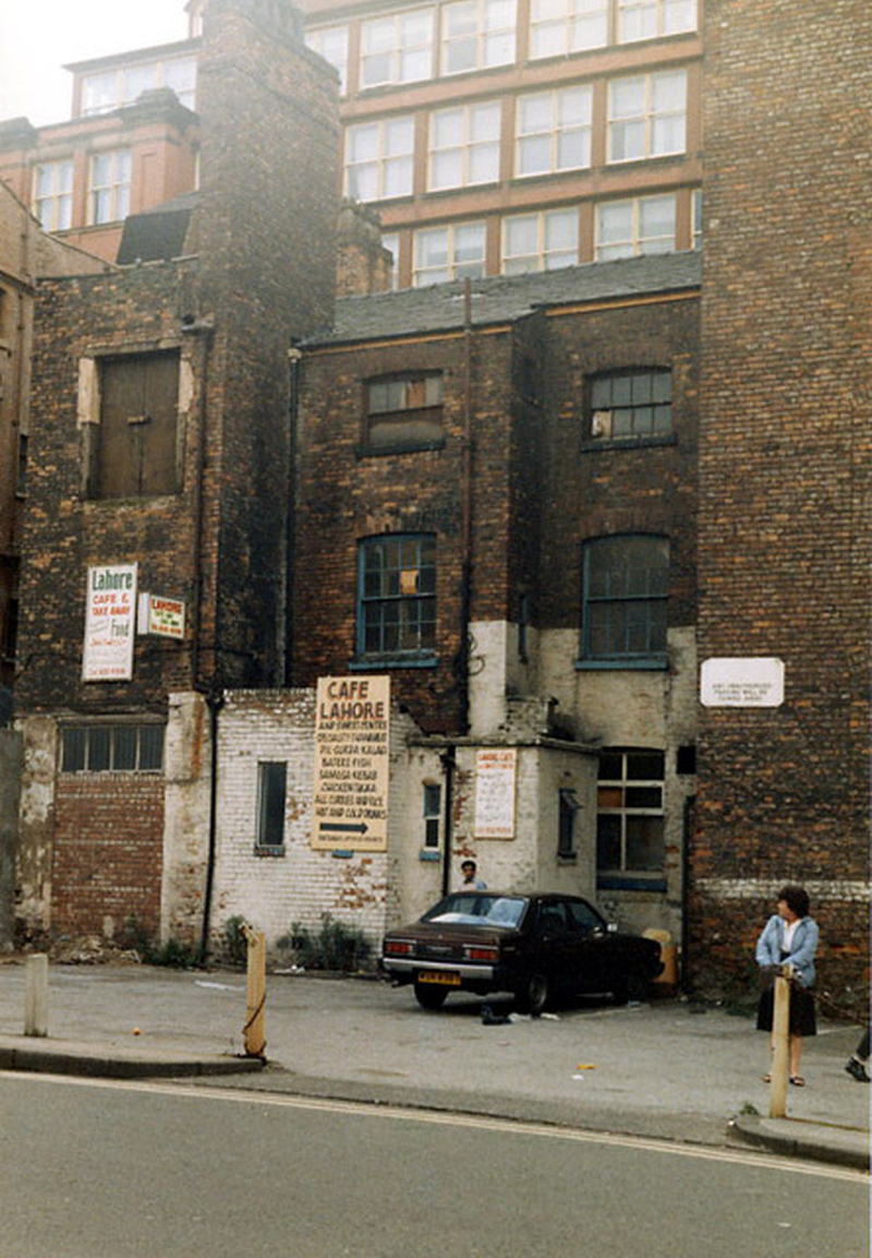 Manchester 1980S Red Lion Street