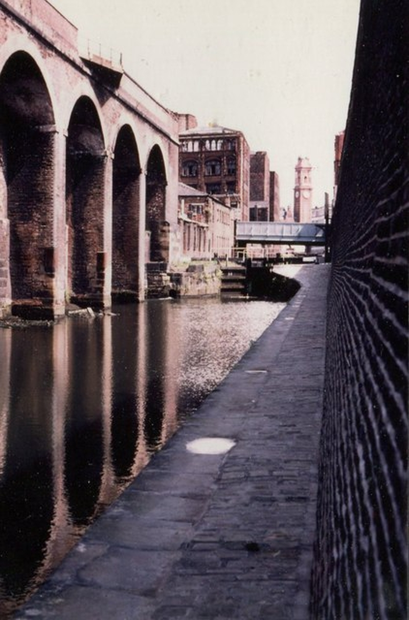 Manchester 1980S Rochdale Canal 1983