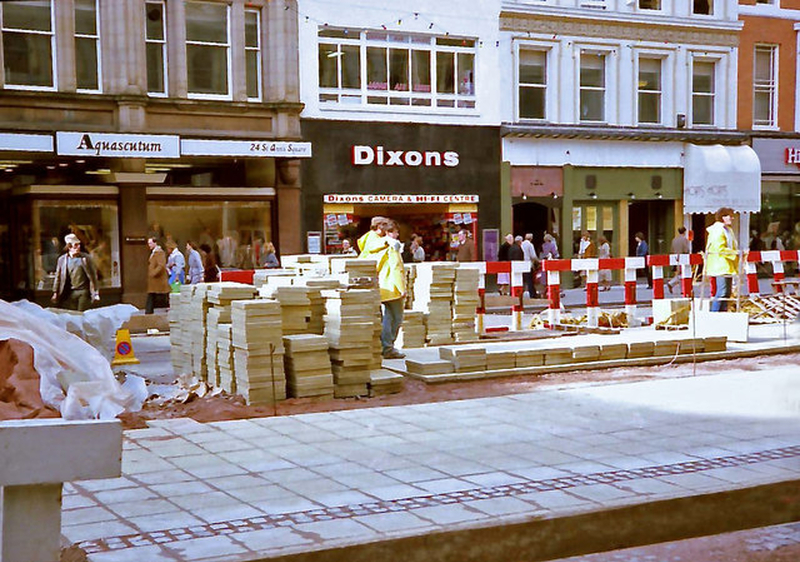 Manchester 1980S St Anns Square 1984