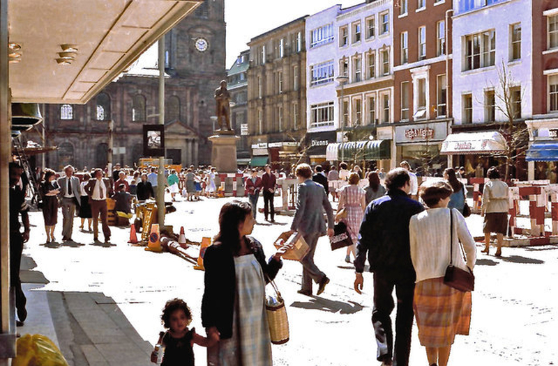 Manchester 1980S St Anns Square