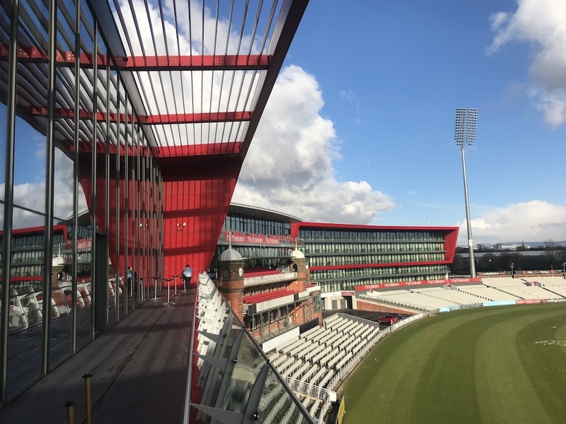 180307 Colour Buildings Manchesterlancashire County Cricket Club Old Trafford