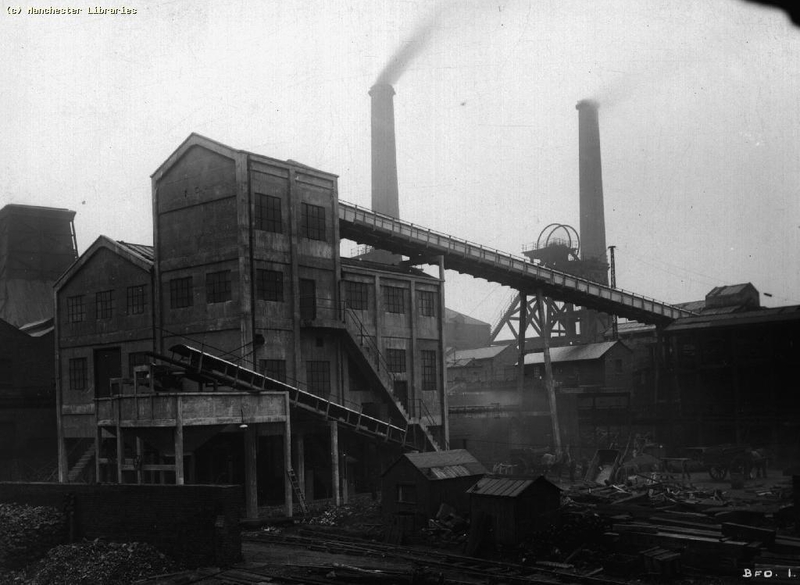 Coal Mining Bradford Colliery Manchester Date 1928