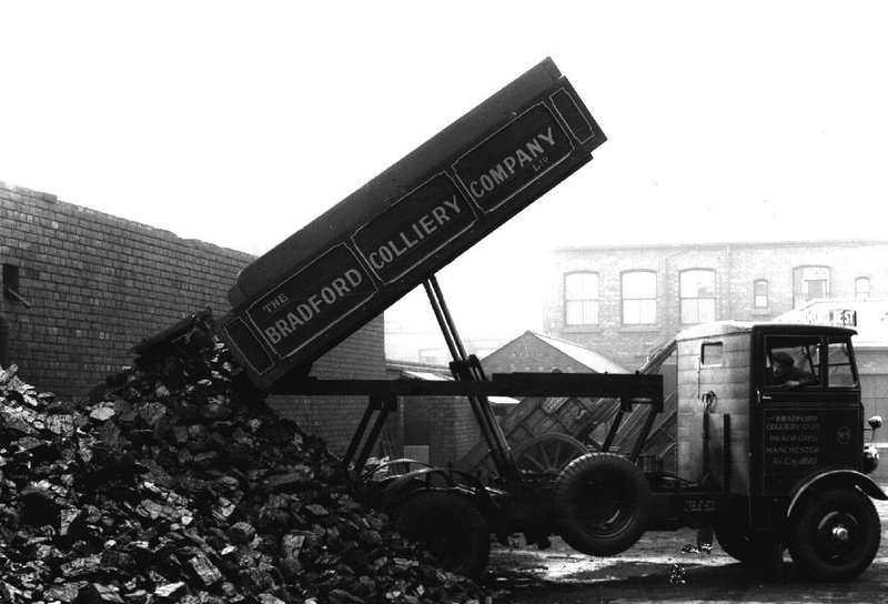 Coal Mining Bradford Colliery Manchester 1928